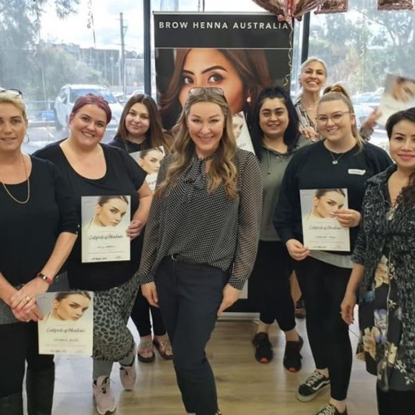 Brow Henna Masterclass – NSW Seven Hills – Salon First