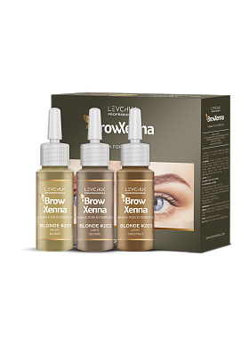 BrowXenna / Brow Henna BLONDE Set 1,2,3 Irina Levchuk
