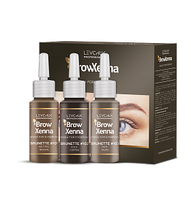 Brow Henna / BrowXenna Set Brown #101, #102, #103 – Irina Levchuk