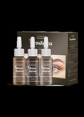 Brow Henna / BrowXenna Set Brown #101, #102, #103 – Irina Levchuk