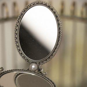Hand Stand Mirror