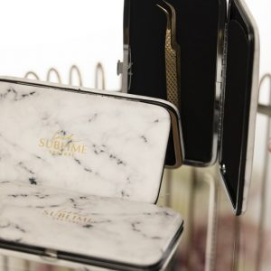 Magnetic Tweezer Case Marble