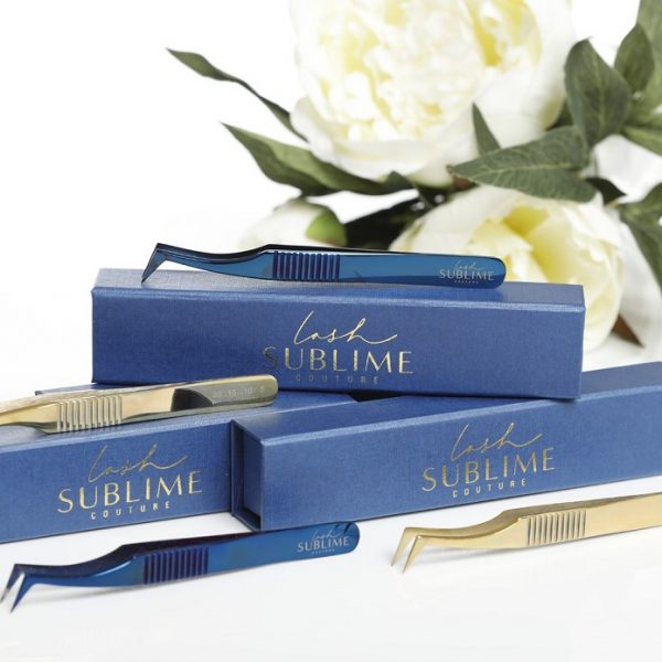 Tweezer L Foot Mermaid Collection – Gold or Blue